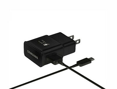 NEW Samsung Fast Charging Wall Charger USB-C Cable for Galaxy S8 S9 Plus Note 8