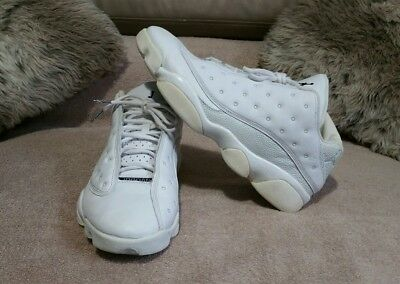 buy online 9dd0a 87e0e Nike Air Jordan 13 Retro XIII Low White Navy Ice Blue 310810 103 Sz 10