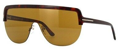 e793440717ce4 TOM FORD SUNGLASSES FT0588 MAX-02 54V Red Havana 57MM -  235.00 ...