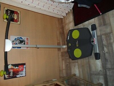 Twist and Shape exerciser with DVD and user Manual. Used Once.