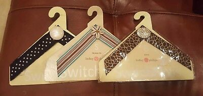 Lot of 3 size small LINDSAY PHILLIPS SWITCHFLOP STRAPS Lucia Avery Stella NEW