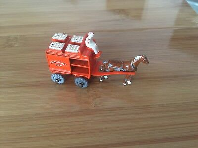 MATCHBOX No 7 A MOKO LESNEY HORSE DRAWN MILK FLOAT MADE IN ENGLAND