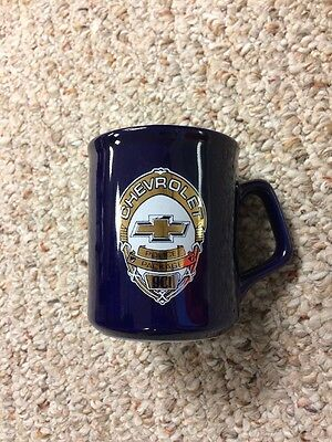 Chevrolet Police Package 9C1 Coffee Mug - RARE