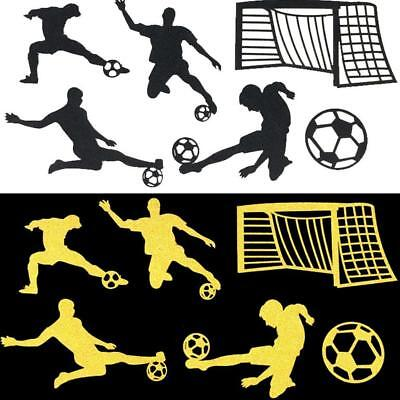 6pcs Soccer Football Ball People Shaped Cake Topper Birthday Party Decoration