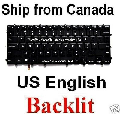 NEW FOR DELL XPS 15 9550 9560 9570 English Keyboard With