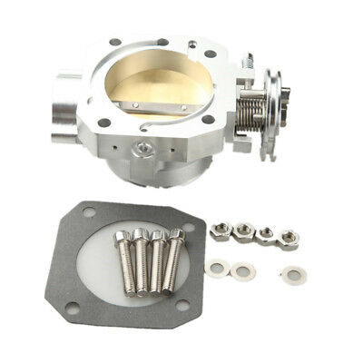 Aluminum 70Mm Throttle Body For Honda Civic Si Crx Integra Gsr Direct Fit