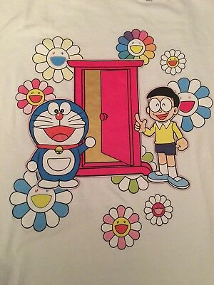 Takashi Murakami x Doraemon UNIQLO  T-shirt W Limited edition from Japan Size M