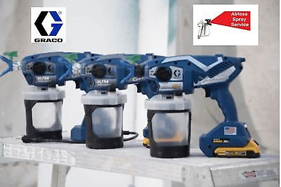 New Graco Ultra Handheld Airless Paint Sprayers  - 2017 - In Stock Now!!!!!