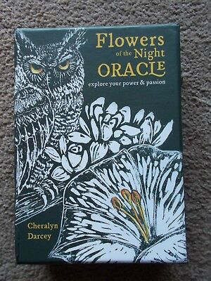 Signed Flowers of the Night Oracle Cards by Cheralyn Darcey