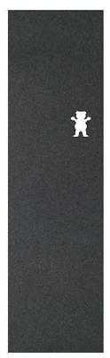 "Grizzly Skateboard Grip Tape Sheet - 9"" x 33"" - Bear Cutout - Regular Stance"