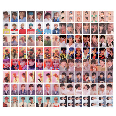KPOP BTS Bangtan Boys Album LOVE YOURSELF Tear FAKE LOVE Photo Card Lomo Card