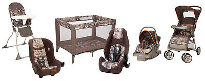 21f9f9c1c799a Cosco Baby Toddler High Chair Folding Portable Kid Eat Padded Seat Realtree  New