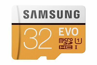 Samsung 32GB EVO 95MB/s MicroSD SDHC UHS-I Class 10 Memory Card adapter WG2