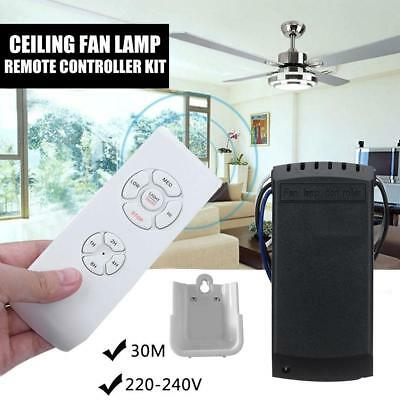 Ceiling Fan Lamp Remote Control Speed Control Timing Wireless Intelligent Switch
