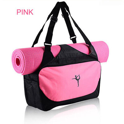 Large Sports Dance Yoga Bags Workout Gym Water Resistant Free shipping # 93