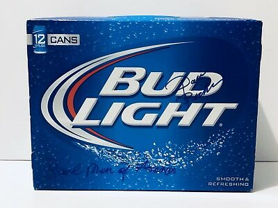 Bud Light Beer Real Men Of Genius Signed Dave Bickler Survivor Rare EXACT  PROOF