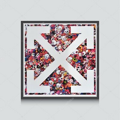 Off White Graffiti X Art Poster Hypebeast Posters Prints Japanese Pop Art Poster