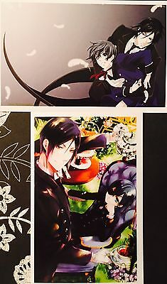 Kuroshitsuji Black Butler-CIEL SEBASTIAN ALOIS CLAUDE Postcard Photo Card Set #A