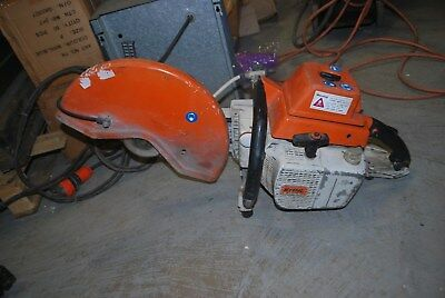 Stihl TS 760 Concrete saw/Concrete Cutter 150mm depth