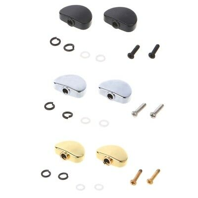 Big Semicircle Guitar Tuning Pegs Machine Heads Tuners Buttons Knobs Handle