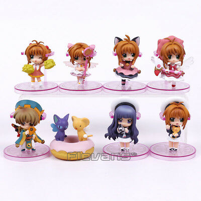 card captor sakura set of 8pcs PVC figure figures anime doll action action hot