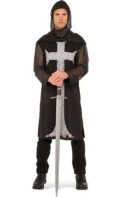 Gothic Knight Crusader Medieval Renaissance Adult Mens Halloween Costume