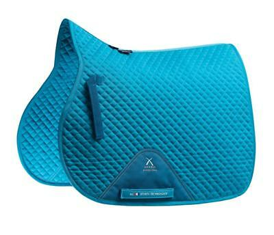PEI Plain Cotton Saddle Pad - GP - Peacock