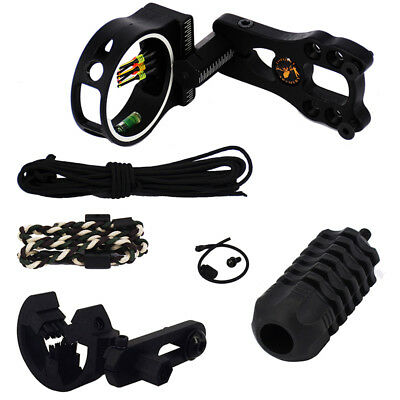 Bow Sight Arrow Rest + Stabilizer Set for Compound Bow Accessories archery game