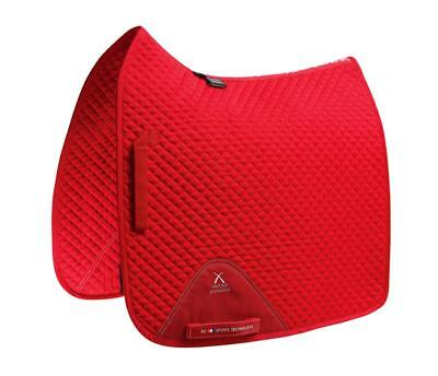 PEI Plain Cotton Saddle Pad - Dressage - Red