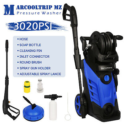 Electric High Pressure Washer Power Jet Water 2660 PSI/184 BAR Patio Car Cleaner