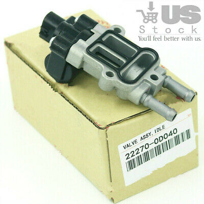 22270-0D040 OEM Idle Air Control Valve IAC Valve with Gasket For Toyota Corolla