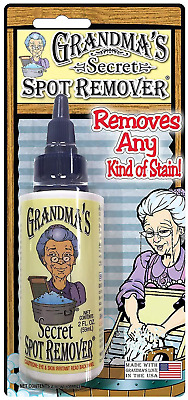 Grandma's Secret Spot Remover 59ml Removes almost any stain with a few drops
