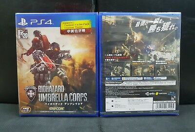(ASIA ENGLISH VERSION) PS4 Resident Evil/Biohazard Umbrella Corps (Brand New)