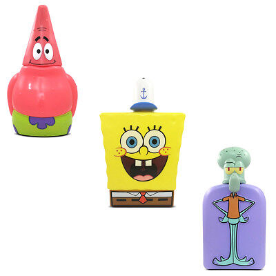 Spongebob 3D Collection Profumo E Showergel Unisex Vari Personaggi E Fragranze