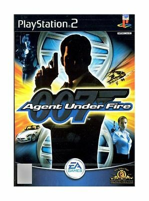 James Bond 007: Agent Under Fire (Sony PlayStation 2, 2001) Complete with book