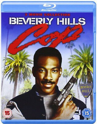 BEVERLY HILLS COP TRILOGY BLU RAY SET TRIPLE PACK PART 1 2 3 EDDIE MURPHY New UK