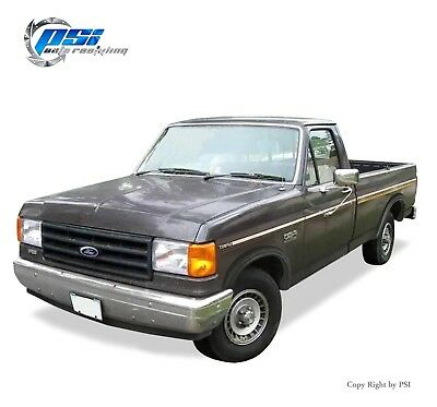 Black Textured Rugged Style Fender Flares 92-96 Ford F-150 F-250 F-350 Bronco
