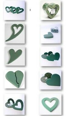 Heart Shape Funeral Tribute Frames Ideal Floral Foam Smithers Oasis Floristry