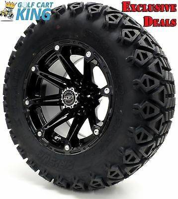 GOLF CART WHEELS and Tires Combo - 14