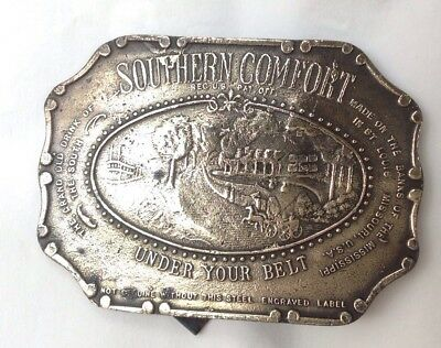 Plaque Southern Comfort American Vintage Classic Retro Country Western