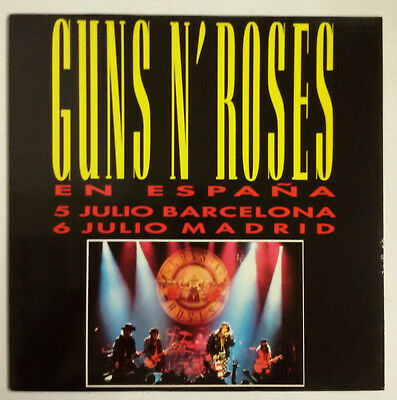 Guns N' Roses Civil War Maxisingle España 1983 Promotional