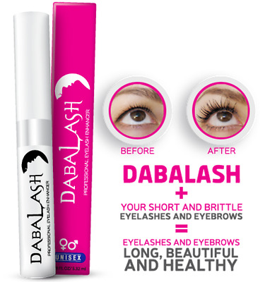 DABALASH Professional Eyelash & Eyebrows Enhancer grow length serum  Exp:09/2020