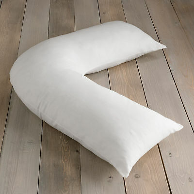 Goose Feather And Down V- Shaped Support Orthopaedic Pillow