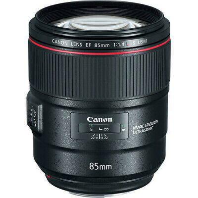 Canon EF 85mm f/1.4L IS USM Lens ship from EU Nuevo