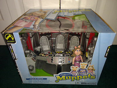 Jim Henson's Muppets Pigs In Space Deluxe Playset Palisades 2003 MISP! Piggy