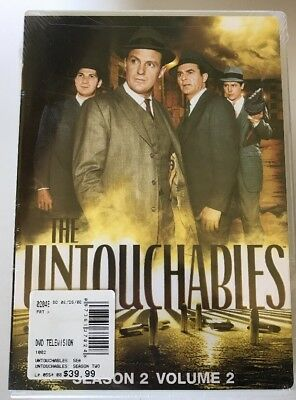 Untouchables - The Complete Second Season Volume Two (DVD, 2008)  R172