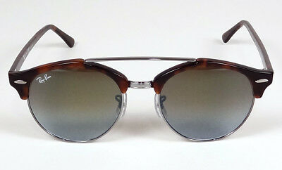 3450d7565c5 Ray Ban Icons Clubmaster Clubround Double Bridge Flash Sunglasses Rb4346  62519J