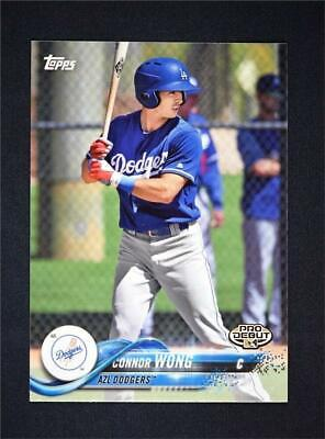 2018 Topps Pro Debut Base #197 Connor Wong PD