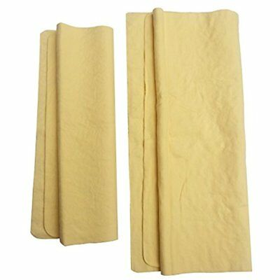Drying Chamois For Car Cleaning, Super Absorbent Towel, 2-Piece Set, Car, Boats,