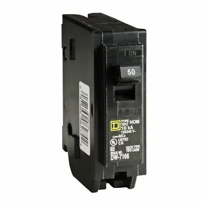 Square D by Schneider Electric HOM150CP Homeline 50-Amp Single-Pole Circuit Brea